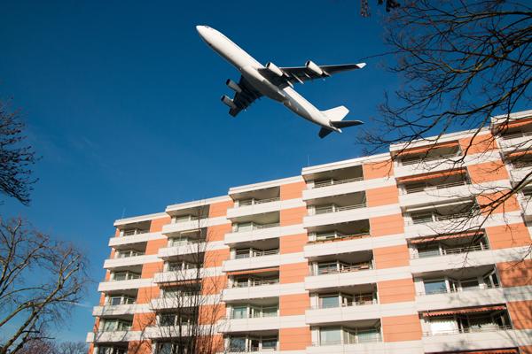 航空機騒音測定